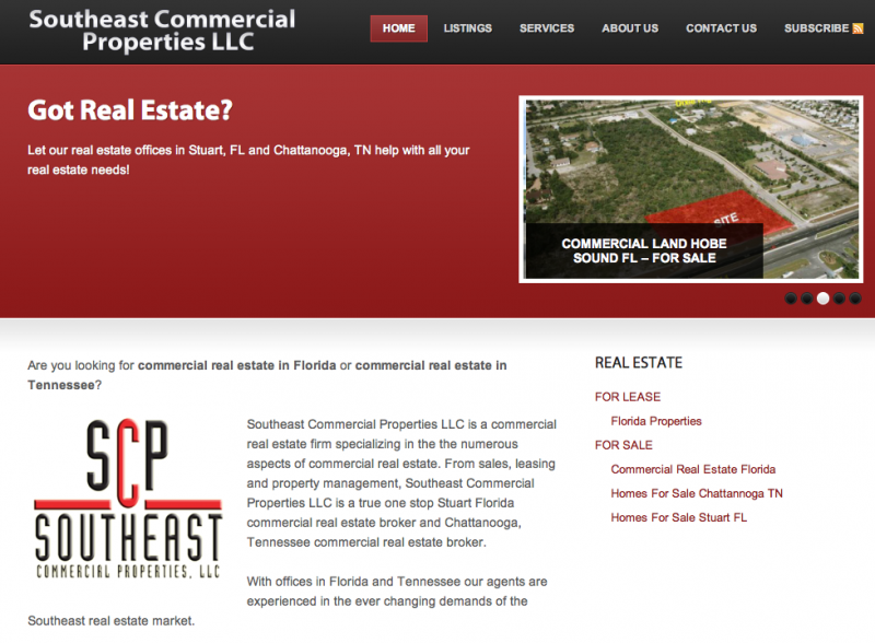 Website Design Company - Realtor Site