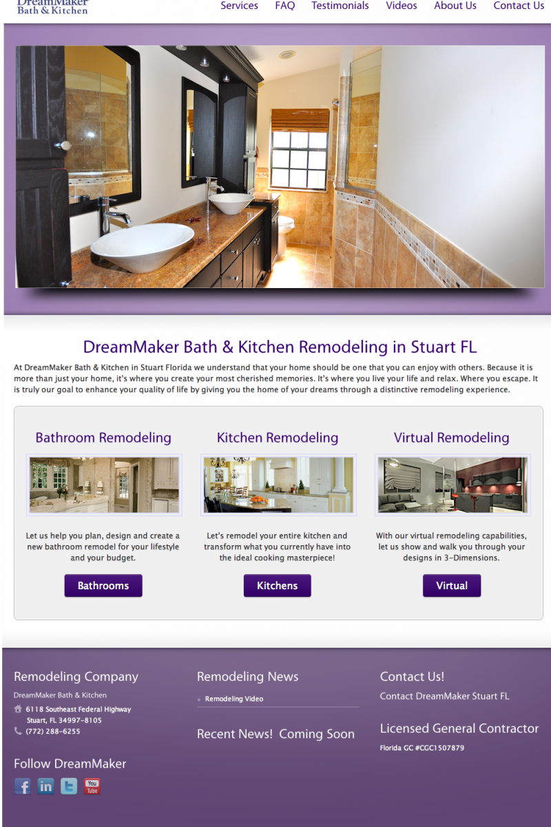 Website Design Company - Remodeling Contractor Site